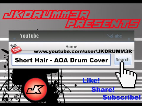 Short Hair 단발머리 - AOA 에이오에이 Drum Cover