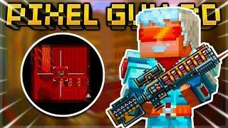 THIS SNIPER ONLY HAS 4 BULLETS! HEADSHOT HUNTING REVOLVER SNIPER RIFLE! | Pixel Gun 3D