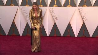 Oscars: Margot Robbie Red Carpet (2016)