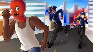 Doing illegal crimes in GTA 5 RP