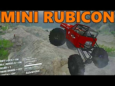 Spin Tires TOP TRUCK CHALLENGE - Hill Climb and Mini Rubicon