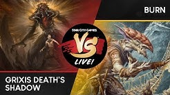 VS Live! | Grixis Death's Shadow VS Burn | Modern | Match 1