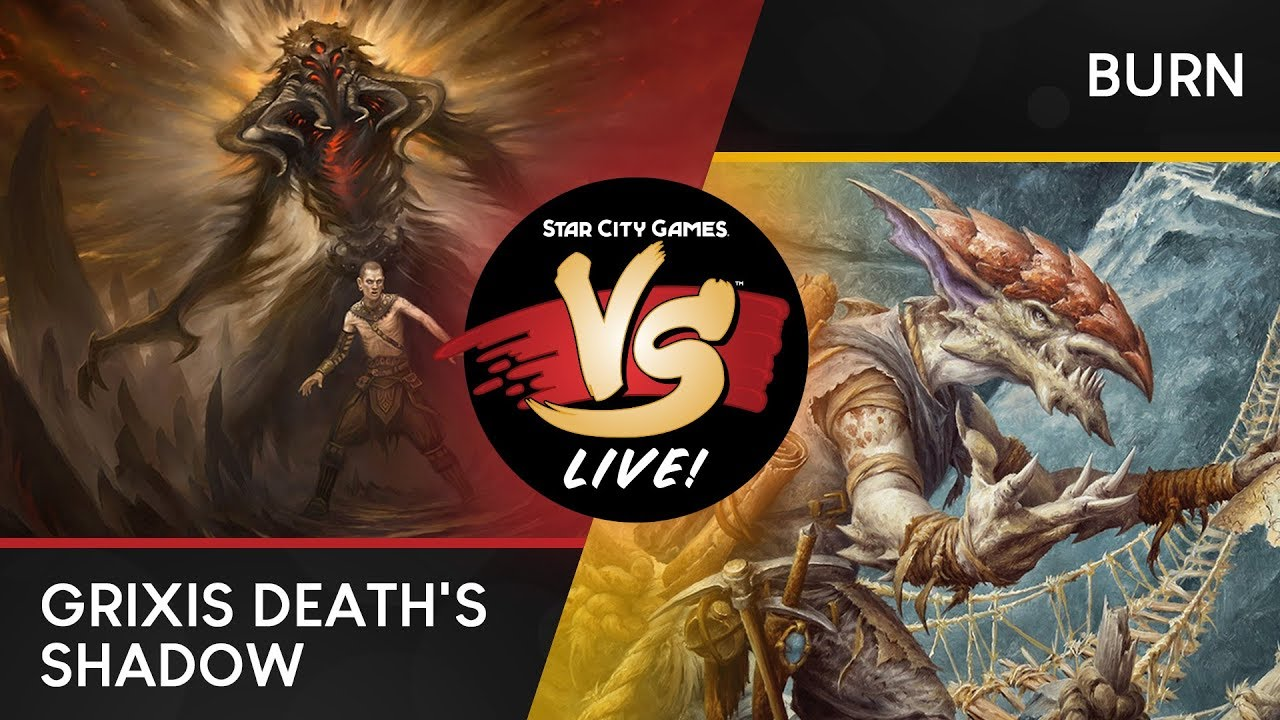 VS Live! | Grixis Death's Shadow VS Burn | Modern | Match 1