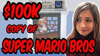 Why a Copy of Super Mario Bros on NES Sold for $100,150