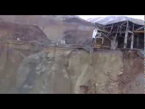Raw Video: Kennecott Copper Mine Flyover (Fox 13 Utah)