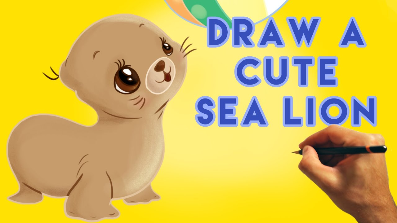 How to draw a cartoon sea lion cute and easy narrated tutorial how to draw a cartoon sea lion cute and easy narrated tutorial youtube publicscrutiny Images