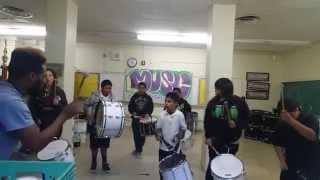 Carver Middle School Drums