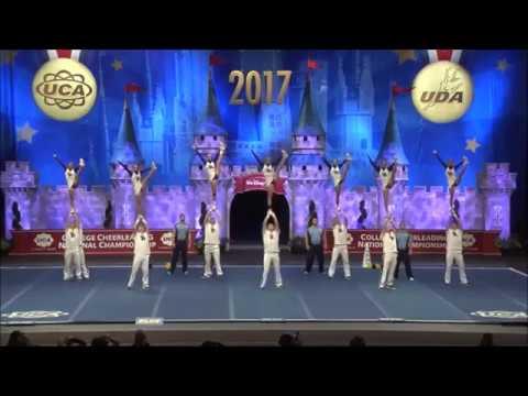 University of Delaware Cheerleading 2017