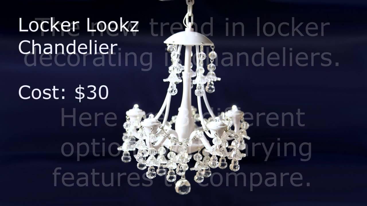Locker chandelier ideas youtube locker chandelier ideas arubaitofo Choice Image