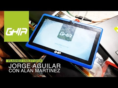 Como cargar firmware tablet china GHIA 47418 - Flasheo