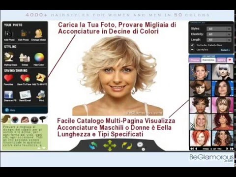 Simulatore taglio capelli online