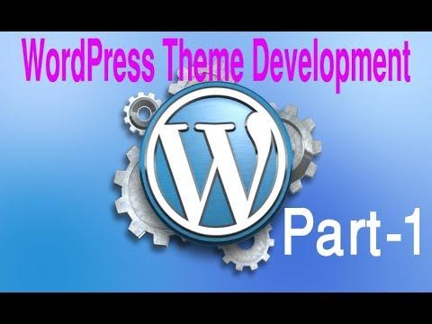 wordpress-theme-development-tutorial-step-by-step-video-–-part-1---wordpress-bangla-tutorial