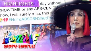 Vice Ganda turns emotional as It's Showtime returns on-air   It's Showtime