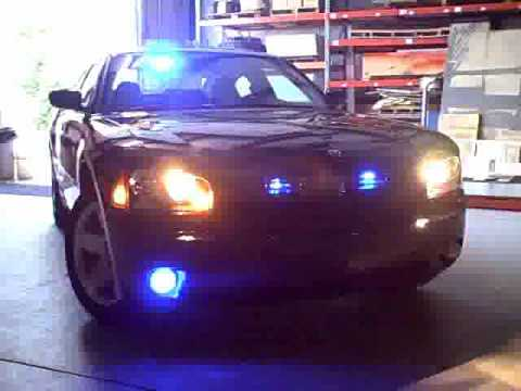 Unmarked Police Dodge Charger - YouTube