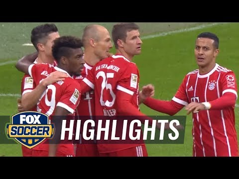 Bayern Munich vs. Mainz | 2017-18 Bundesliga Highlights