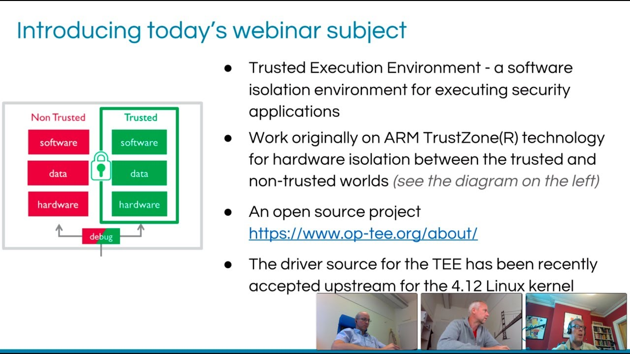 TEE Linux kernel support and open source security [Free Webinar]
