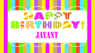Jayant Wishes & Mensajes - Happy Birthday