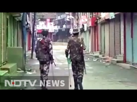 Curfew in Kashmir Valley on Eid, choppers and drones to keep vigil