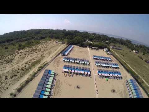 Drone Spiaggia Alberoni - VENICE BEACH