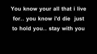 evanescence-you (lyrics)