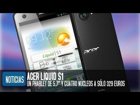 Acer Liquid S1, características y precio