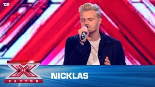 Nicklas synger 'This I Promise You' – NSYNC (5 Chair Challenge) | X Factor 2020 | TV 2