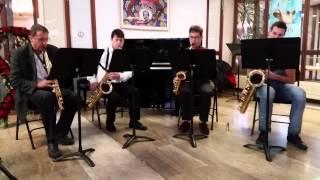 Mozart Bei Männer... extrait de la flute enchantée interprété par le quatuor Saxy Frasques