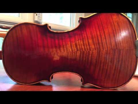 Custom Violin after Paganini's 1743