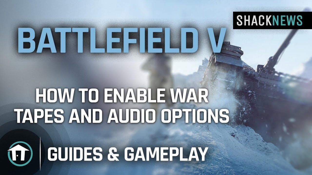 Battlefield 5 PC keyboard controls and key bindings | Shacknews