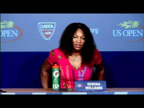 2011 US Open Press Conferences: Serena Williams (Quarterfinals)