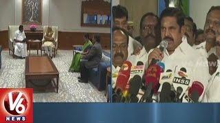 Tamil Nadu CM Palanisami Meet PM Narendra Modi Over NEET Exam   V6 News