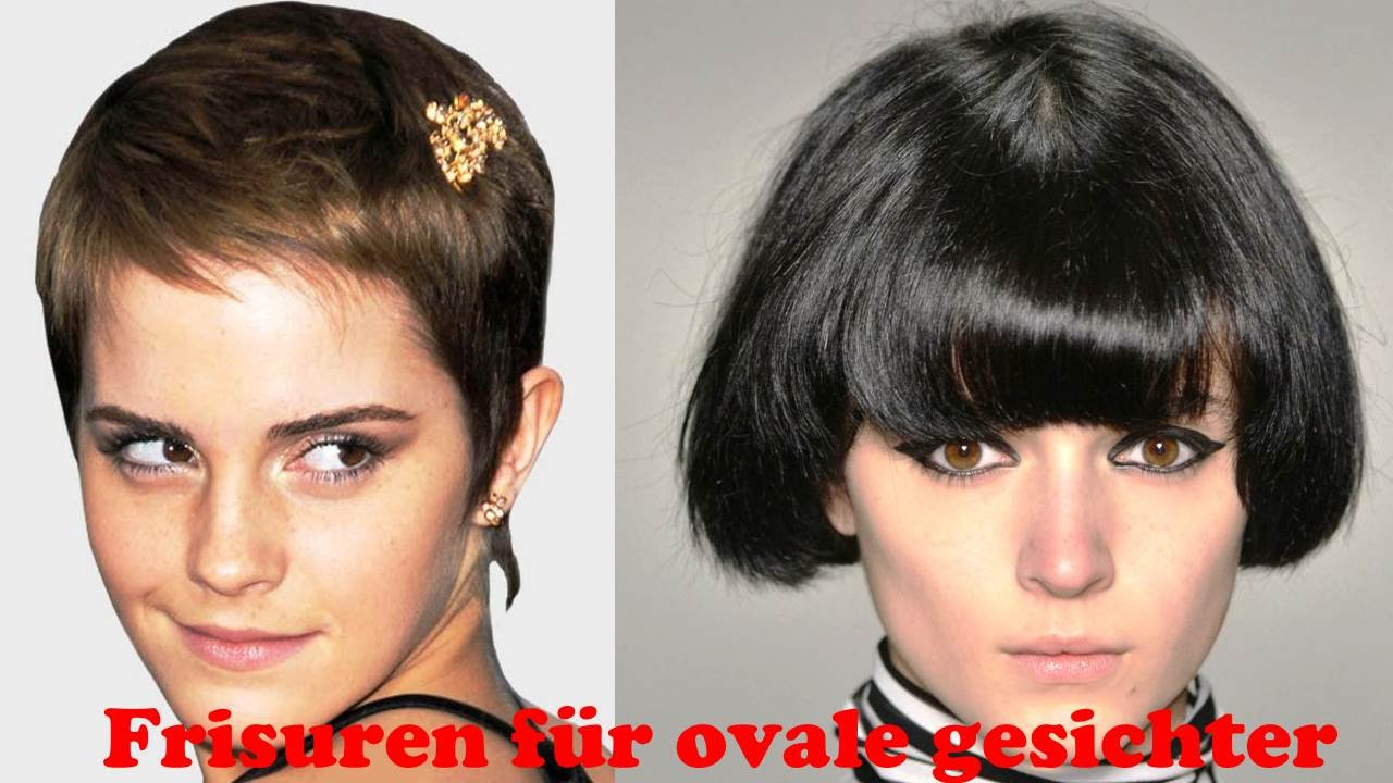 Frisuren Für Ovale Gesichter YouTube