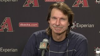 Randy Johnson Elected to the Class of 2015 of the Baseball Hall of Fame