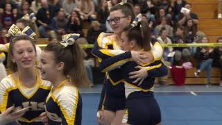 Ledyard High School at 2019 ECC Cheerleading Championship