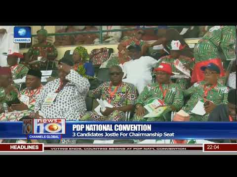 PDP National Convention: 28,000 Delegates Elect Party's National Executives In Abuja