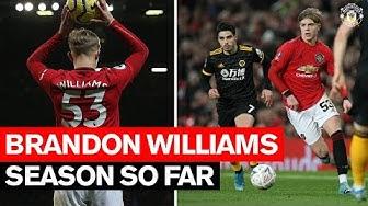Season So Far | Brandon Williams | Manchester United 2019/20