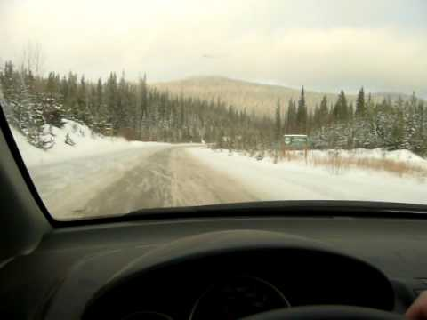 Honda fit winter driving video clip youtube for Honda fit in snow
