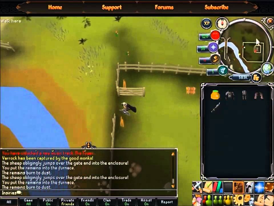 Runescape 3 quest guide: you are it.