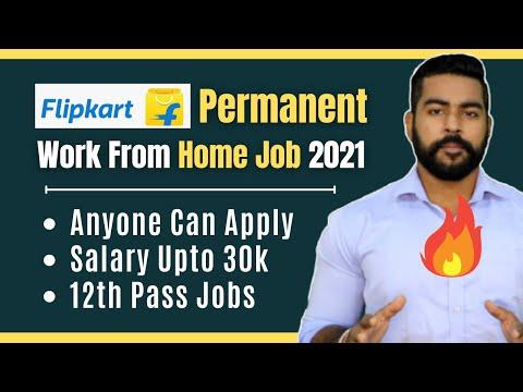 Direct Flipkart Jobs for Students | Salary Upto 30k | Permanent Work From Home Job | 12th Pass Jobs