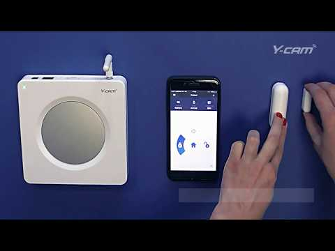 Y-cam Protect Smart Alarm system Phone Call Alerts