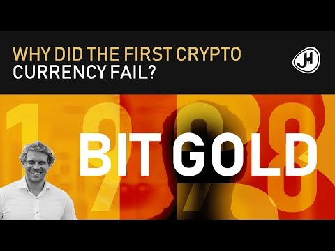 3 Reasons Why The First Crypto Currency Failed