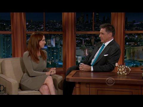 Late Late Show with Craig Ferguson 9/24/2012 Dennis Quaid, Ellie Kemper