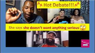 Modern Dating | Casual Dating | She says she doesn't want anything serious | My Comfy Couch