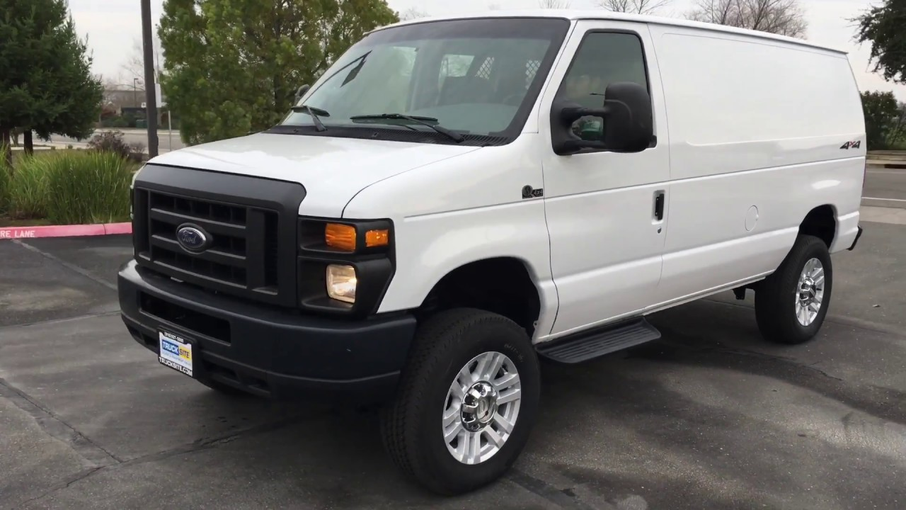 2008 ford e250 quigely 4x4 cargo van