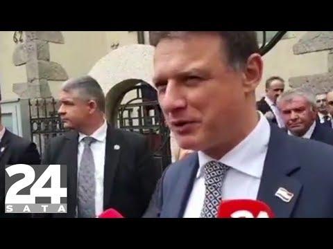 Šešelj gazio hrvatsku zastavu: Jandroković se vraća u Zagreb!