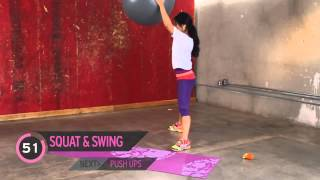 Full Body Workout  How to Burn 100 Calories Using a Stability Ball