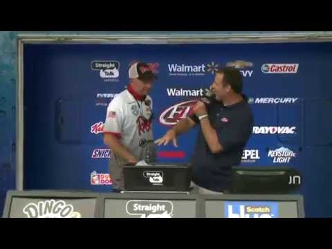 Walmart FLW Tour: Pickwick Lake - Day 1 weigh-in