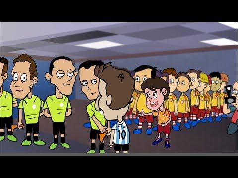 Mess ignora el saludo de un niño - Messi Ignores Kid's Handshake (Subt) - Internautismo Crónico