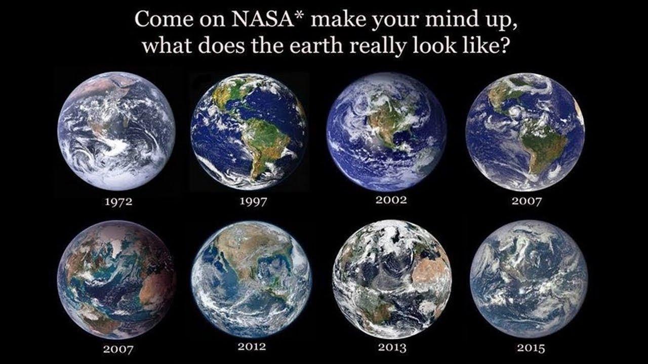 Flache Erde Beweise