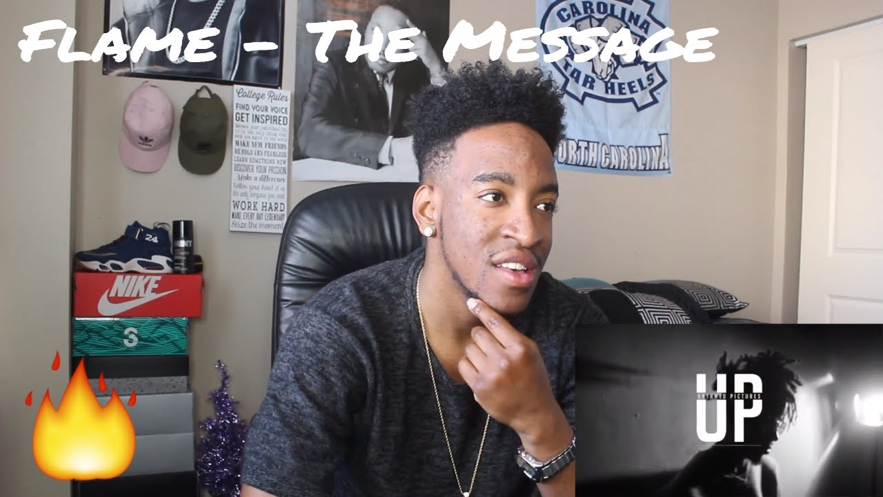 Download Flame - The Message (REACTION)